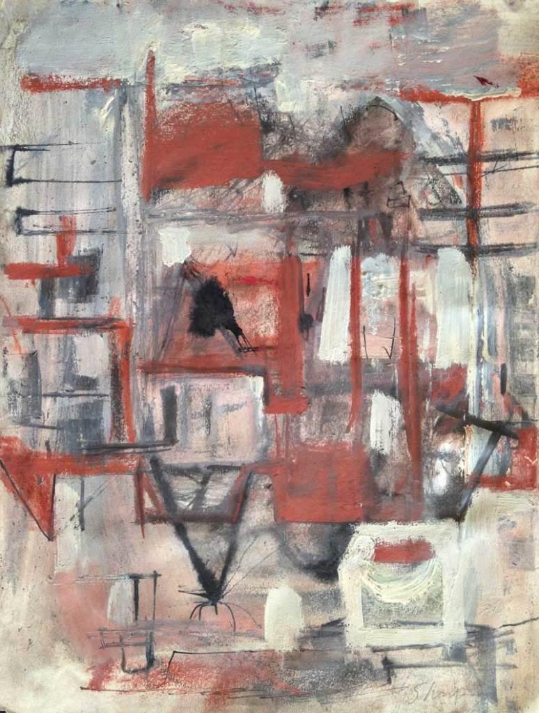 William Bertrum Sharp - abstraction