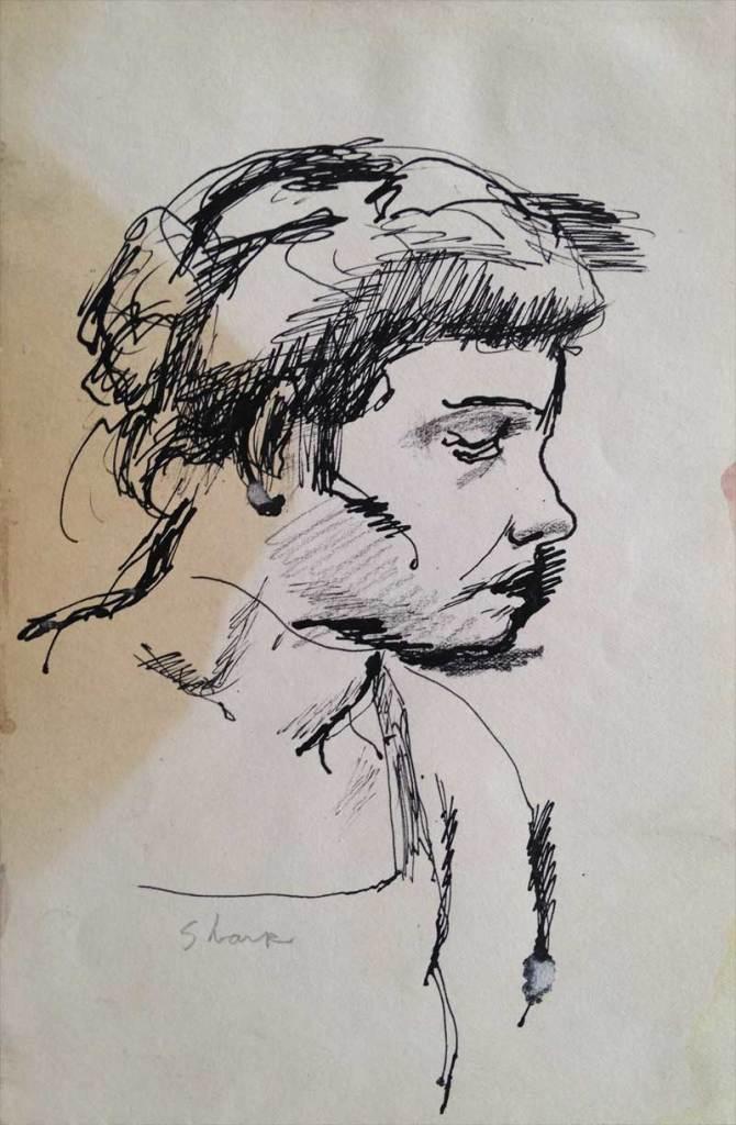 William Bertrum Sharp - portrait of Doris
